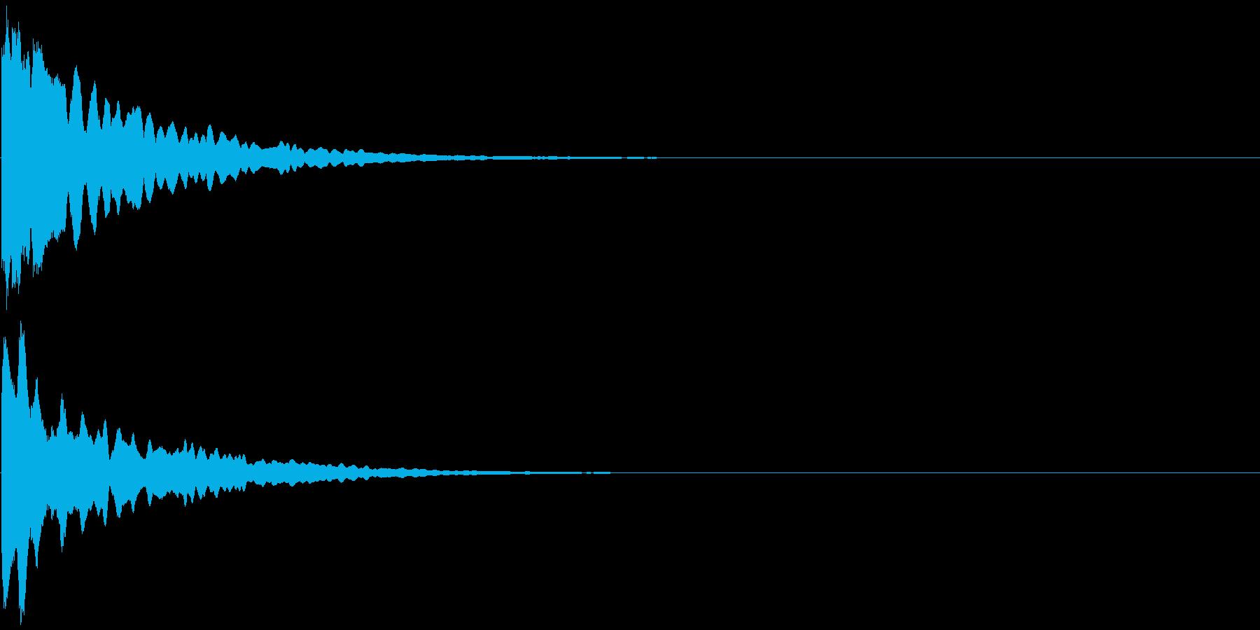 キラーン  の再生済みの波形