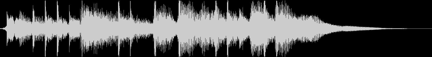 アコースティックギターフックとフレ...の未再生の波形