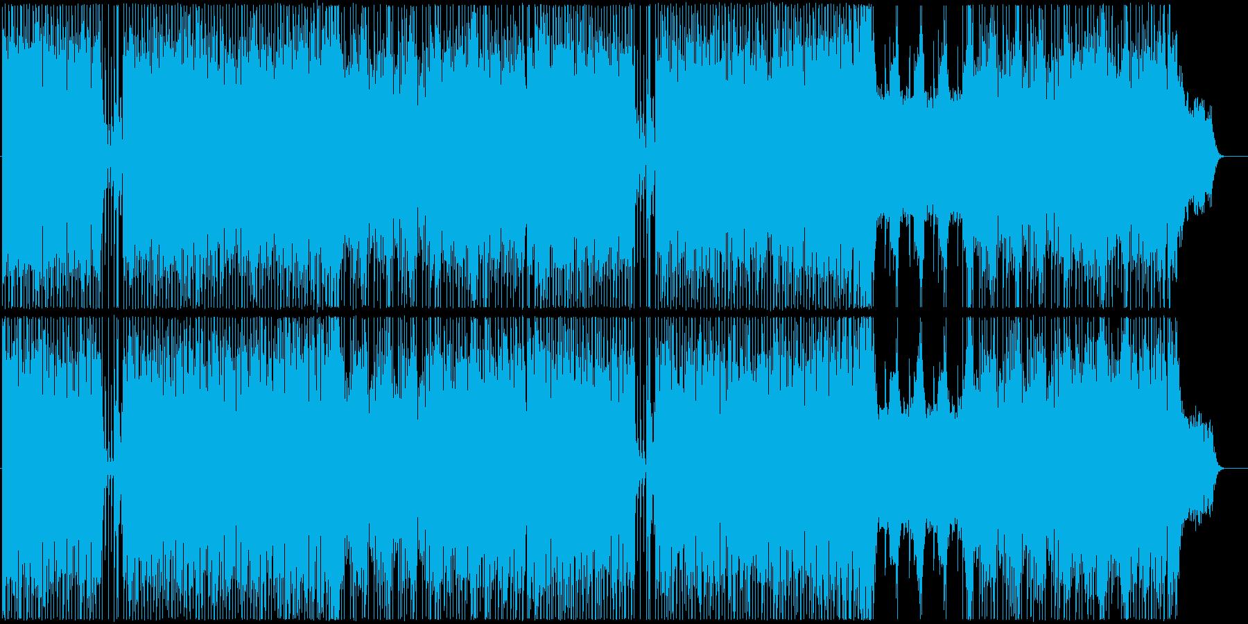 初々しさを感じるインスト曲の再生済みの波形
