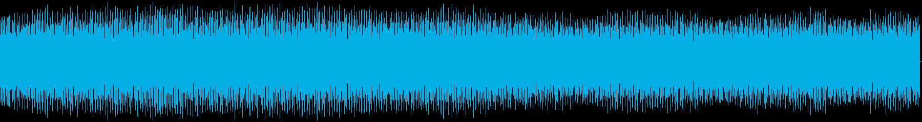 扇風機の中回転の再生済みの波形