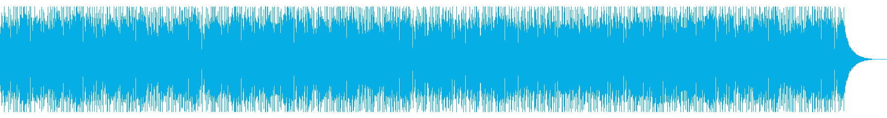 カフェで流れていそうなオシャレで可愛い曲の再生済みの波形