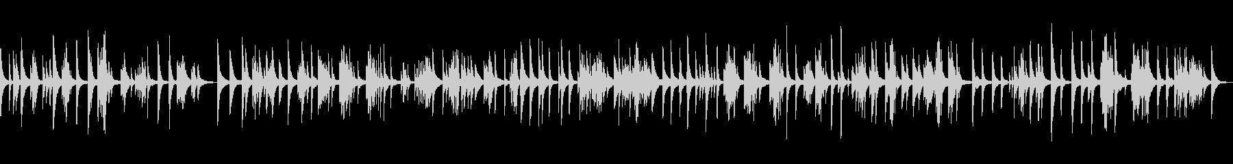 KANTリラックスピアノBGM0706の未再生の波形
