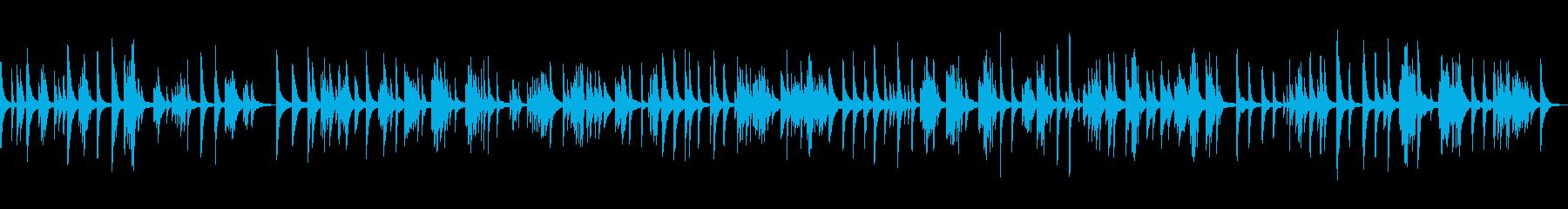 KANTリラックスピアノBGM0706の再生済みの波形