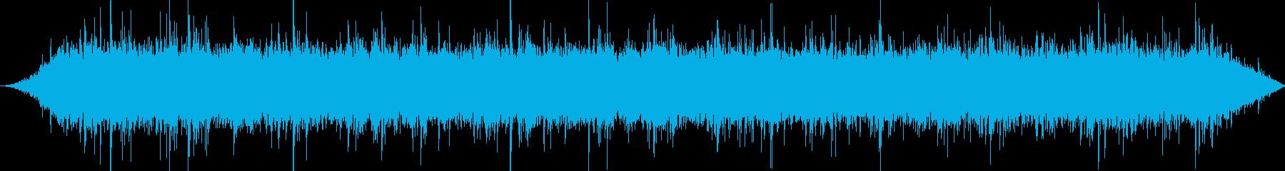 機械室:絶え間ないモーターのar音...の再生済みの波形