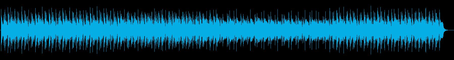緊張感のあるピアノのリフレインの再生済みの波形