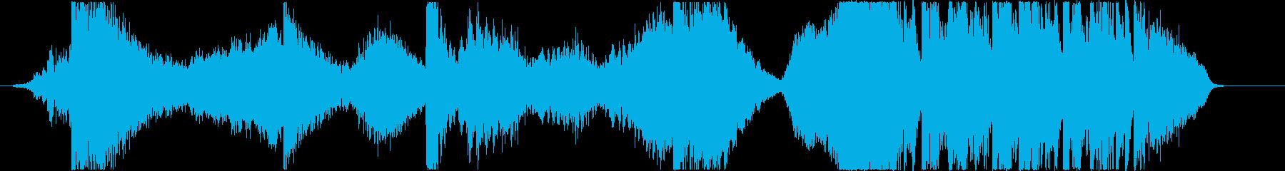 トレーラーetc./打楽器主体*恐怖の再生済みの波形