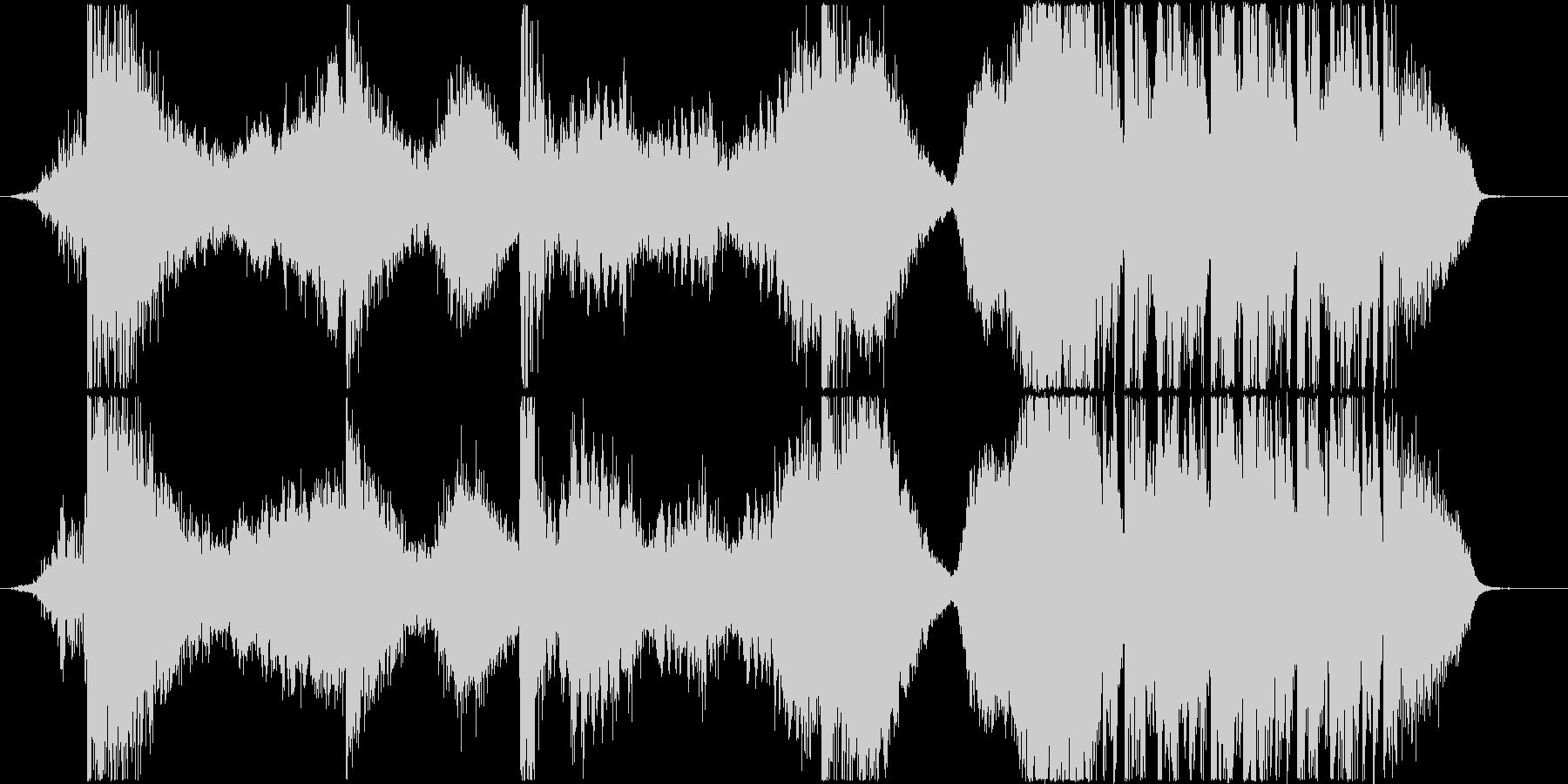 トレーラーetc./打楽器主体*恐怖の未再生の波形