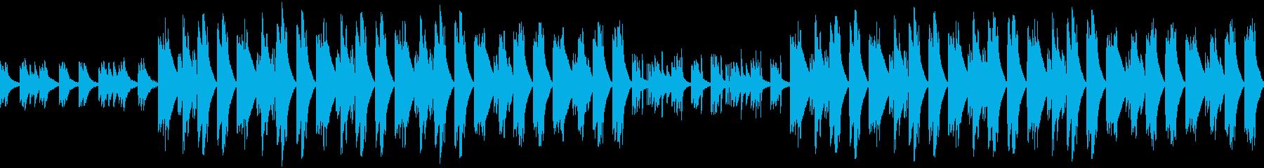 ゆったり眠くなるチルヒップホップBGMの再生済みの波形