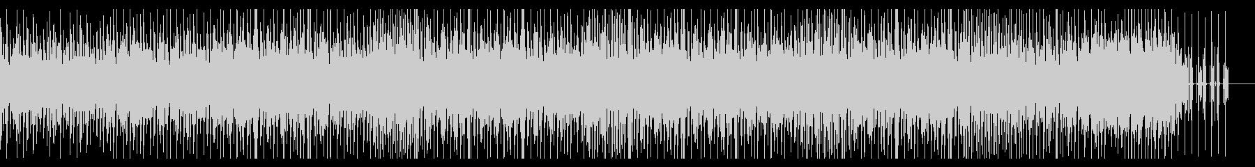 ミニマルで有機的なチルアウトミュージックの未再生の波形