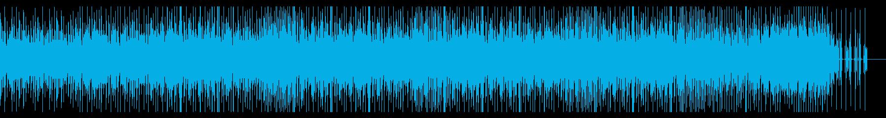 ミニマルで有機的なチルアウトミュージックの再生済みの波形