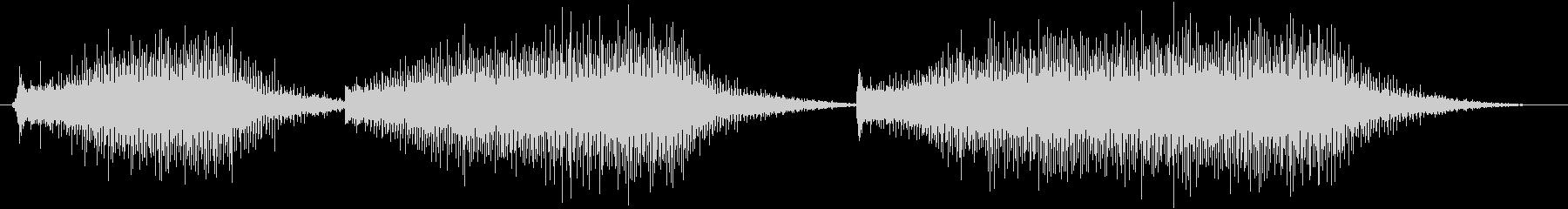電気包丁:3つのショートカット、キ...の未再生の波形