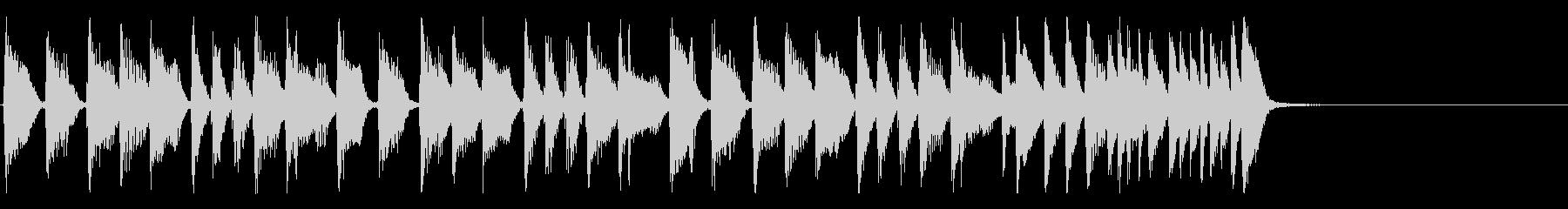 スタイリッシュなジャズファンクジングルの未再生の波形