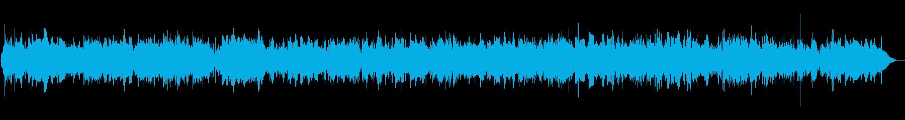 アイリッシュの民謡の代表曲の再生済みの波形