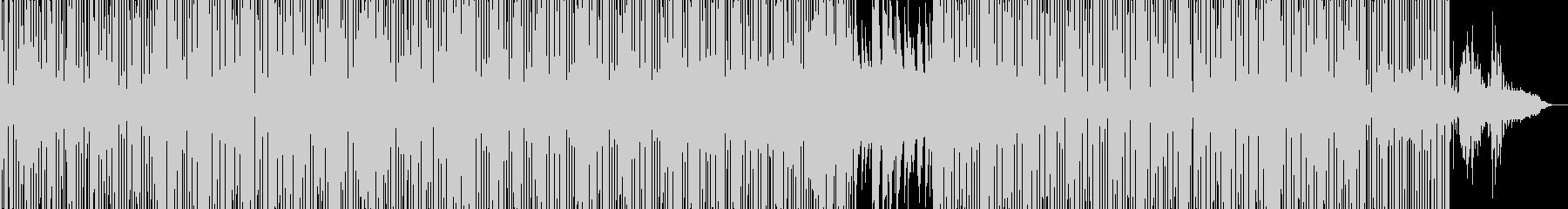 クールでおしゃれなチルアウト・トラップの未再生の波形