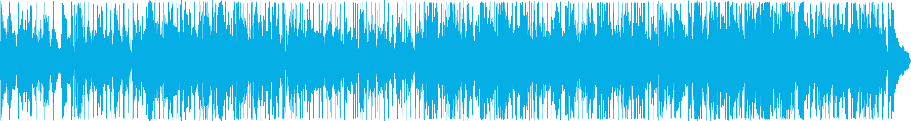ムーディな雰囲気のジャズバラードの再生済みの波形