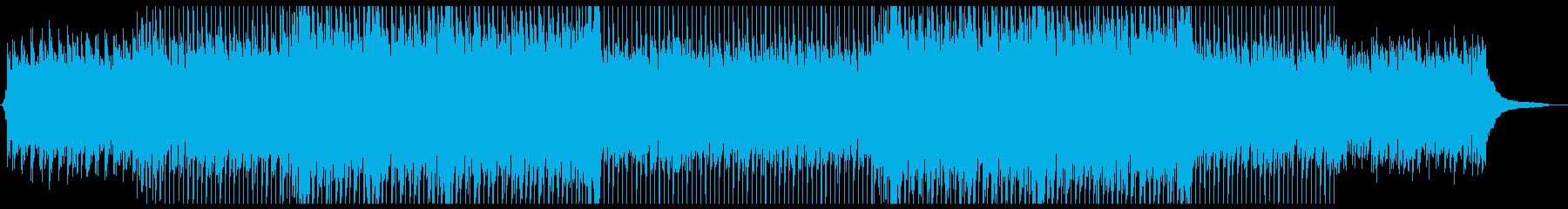 前向きで爽やかなコーポレートムービー向けの再生済みの波形