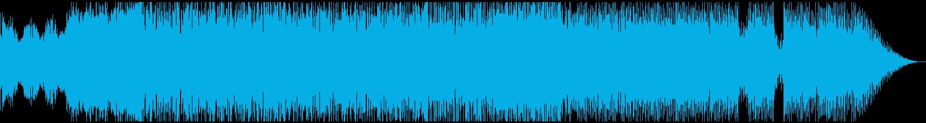 エイリアンによる侵攻の再生済みの波形