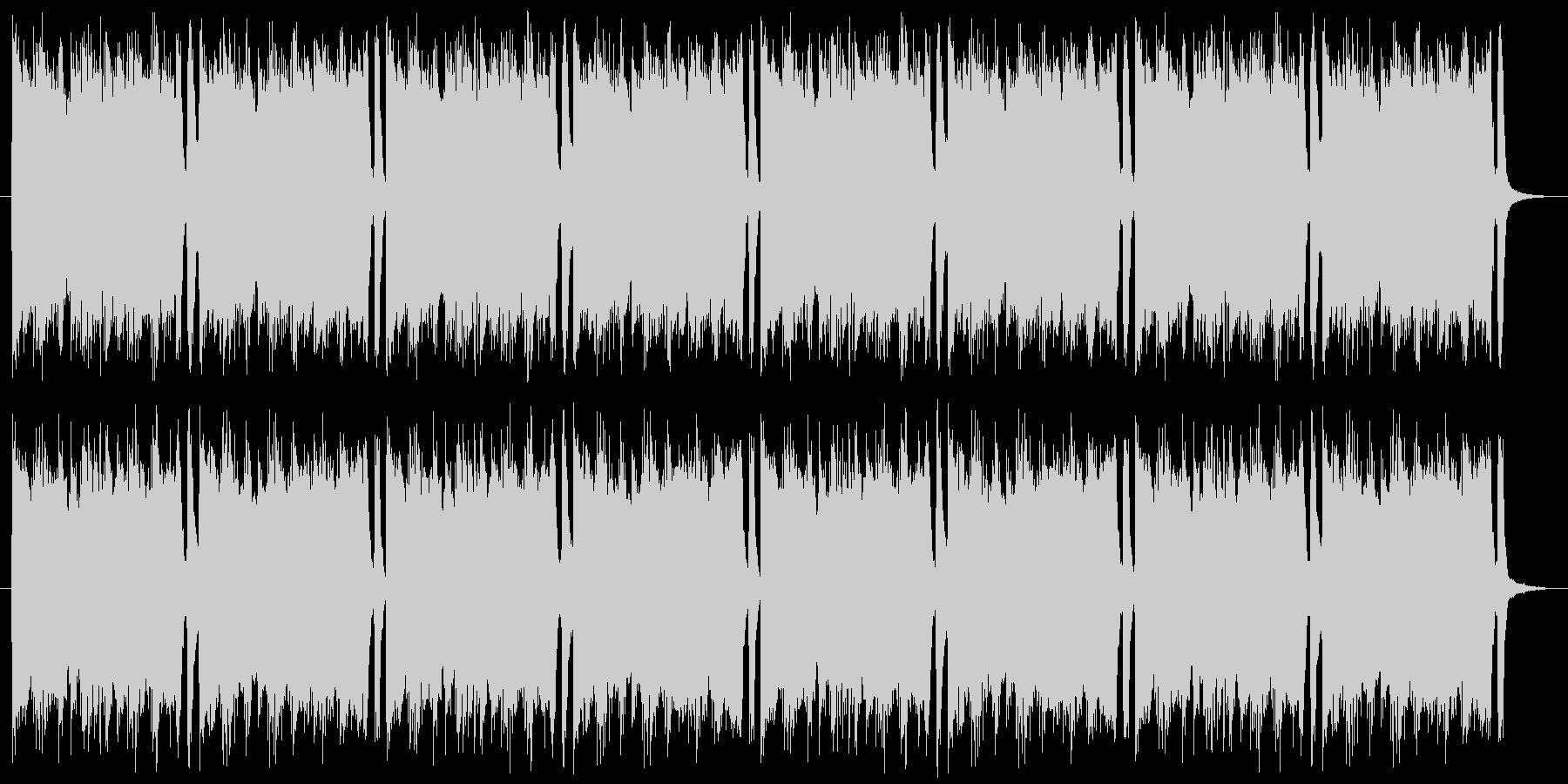 グランジ系ロック 編集版の未再生の波形