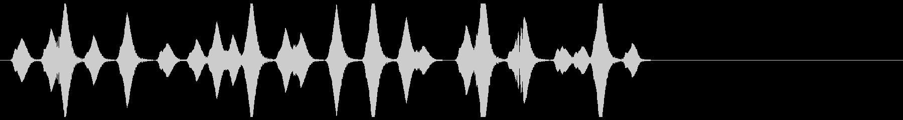 泡/気泡/あぶく/プクプク_000の未再生の波形