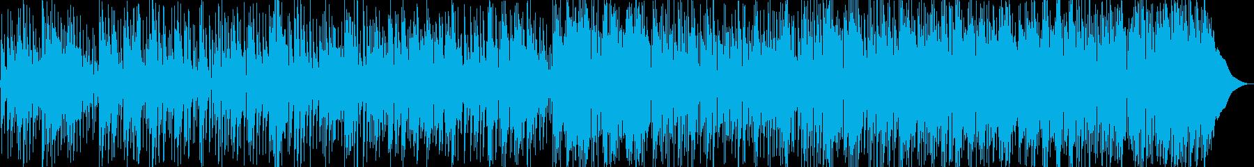 ゆったりくつろぐイージーリスニングの再生済みの波形