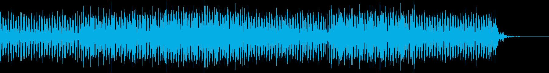 ギター主体のエレクトロ不思議な空間の再生済みの波形