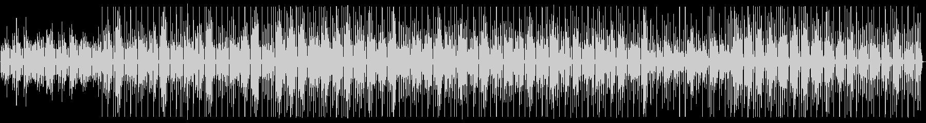 ピアノの旋律が印象的なワルツの未再生の波形