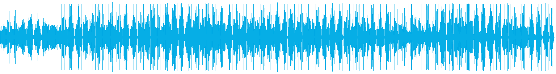 ピアノの旋律が印象的なワルツの再生済みの波形