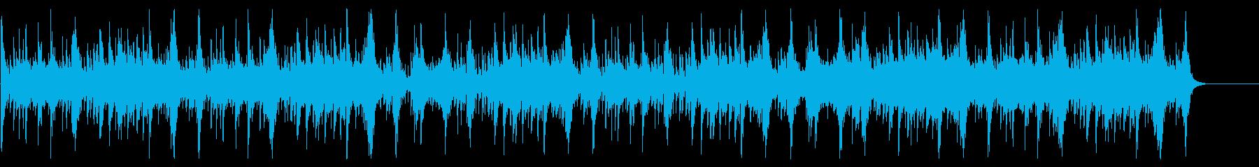 ブルガリアンヴォイス&壮大なオーケストラの再生済みの波形