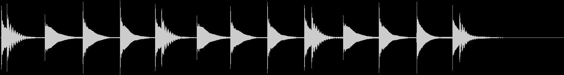 木琴:タイムアクセント、漫画コメデ...の未再生の波形