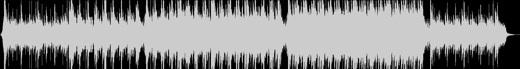 シリアスなモダンクラシカルオーケストラの未再生の波形
