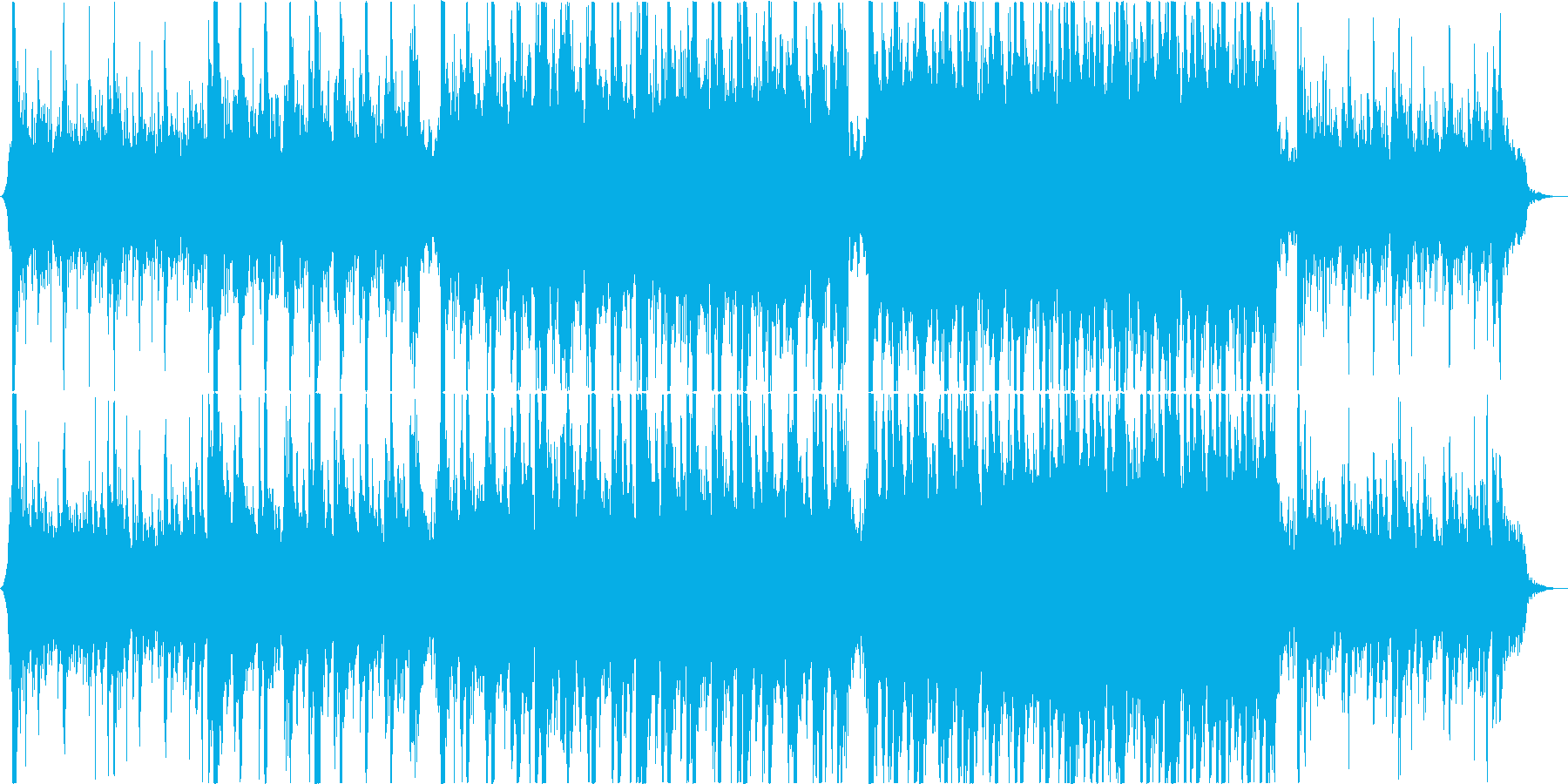 シリアスなモダンクラシカルオーケストラの再生済みの波形