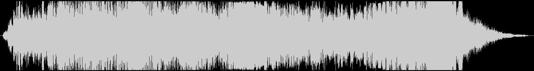ドローン うめき声01の未再生の波形