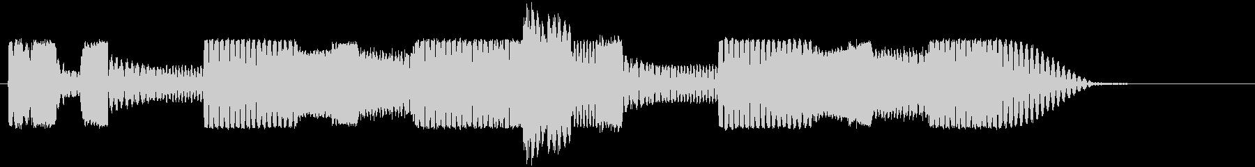 ロボットサウンド 機械音4の未再生の波形
