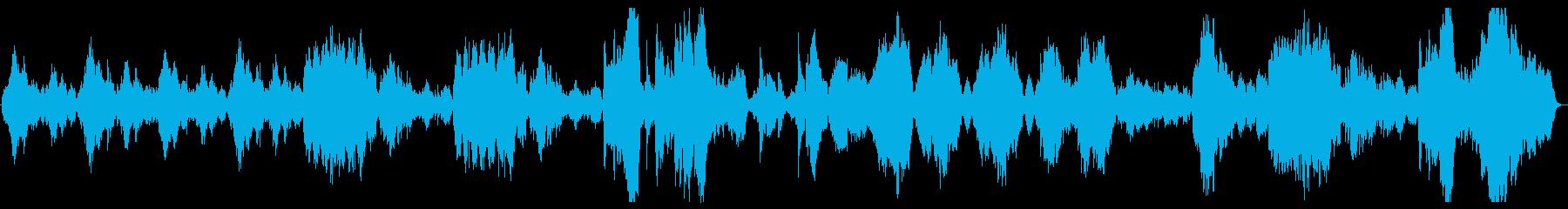 しっとりしたオーケストラの再生済みの波形