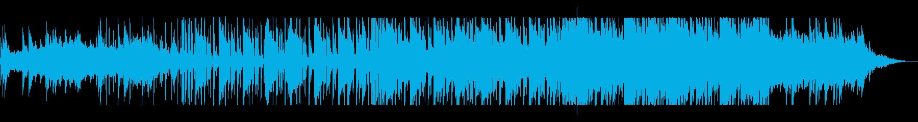 リラックスできるオシャレなピアノ曲の再生済みの波形
