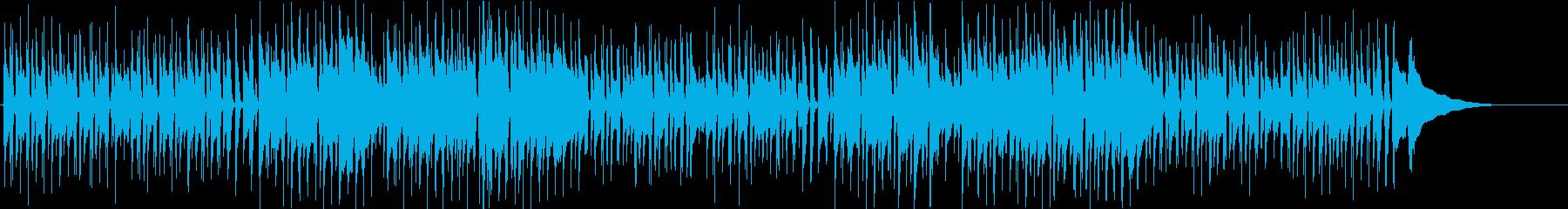 アコギ生演奏 クリスマス カッティングの再生済みの波形