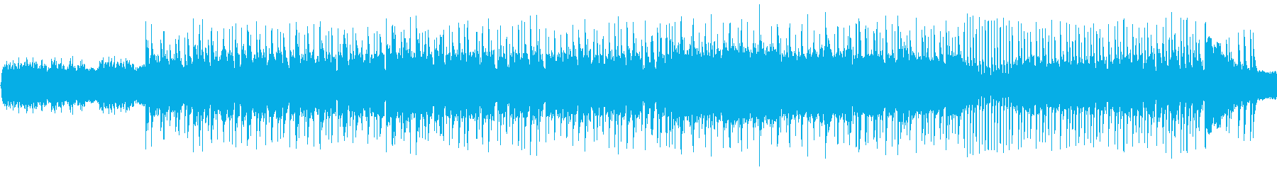 グイグイ一気に引き込む圧倒的ハードロックの再生済みの波形