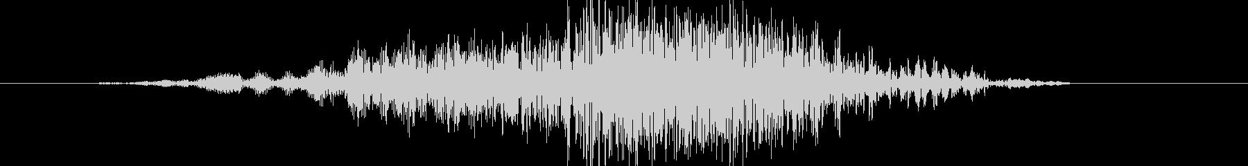 ヒューマノイド 魚人の樹皮04の未再生の波形