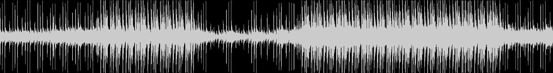 しっとり落ち着いたエレクトロミュージックの未再生の波形