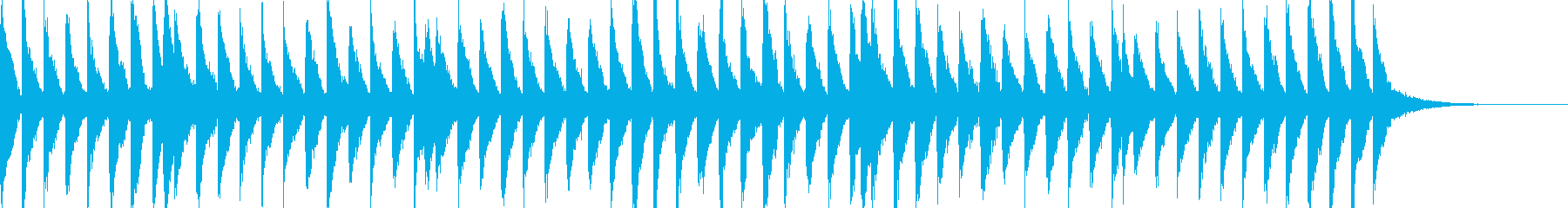 EDM  Drop フレーズですの再生済みの波形