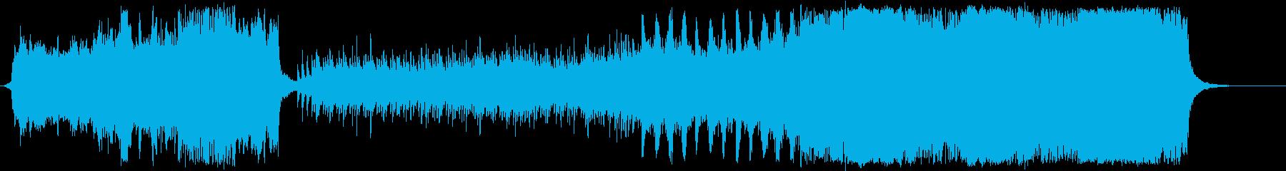 空をイメージしたフルオーケストラの再生済みの波形