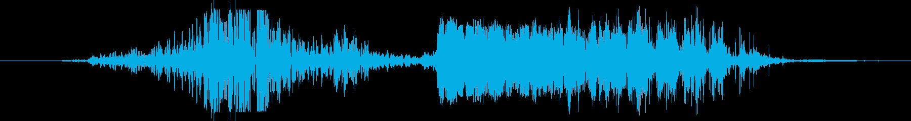 アローオアナイフ:オールドウッドイ...の再生済みの波形