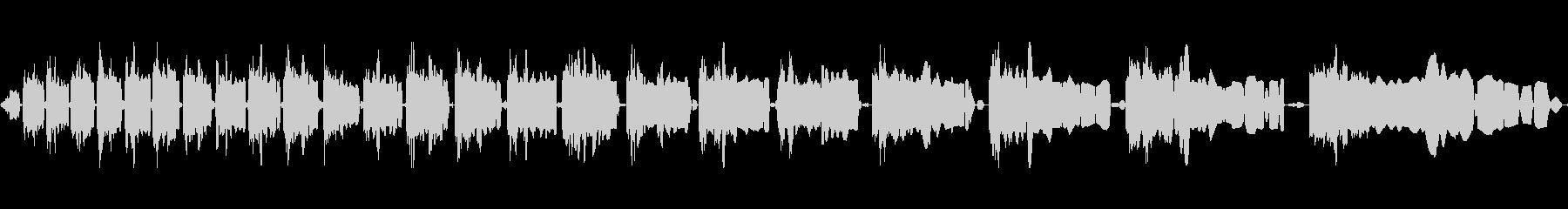 電動スワイプの未再生の波形
