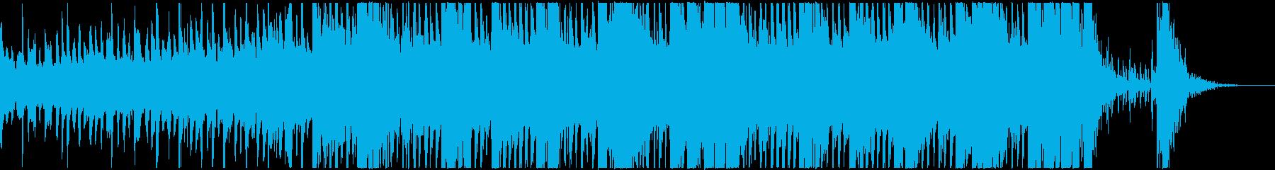 ブレイクビーツ ドラム & ベース...の再生済みの波形