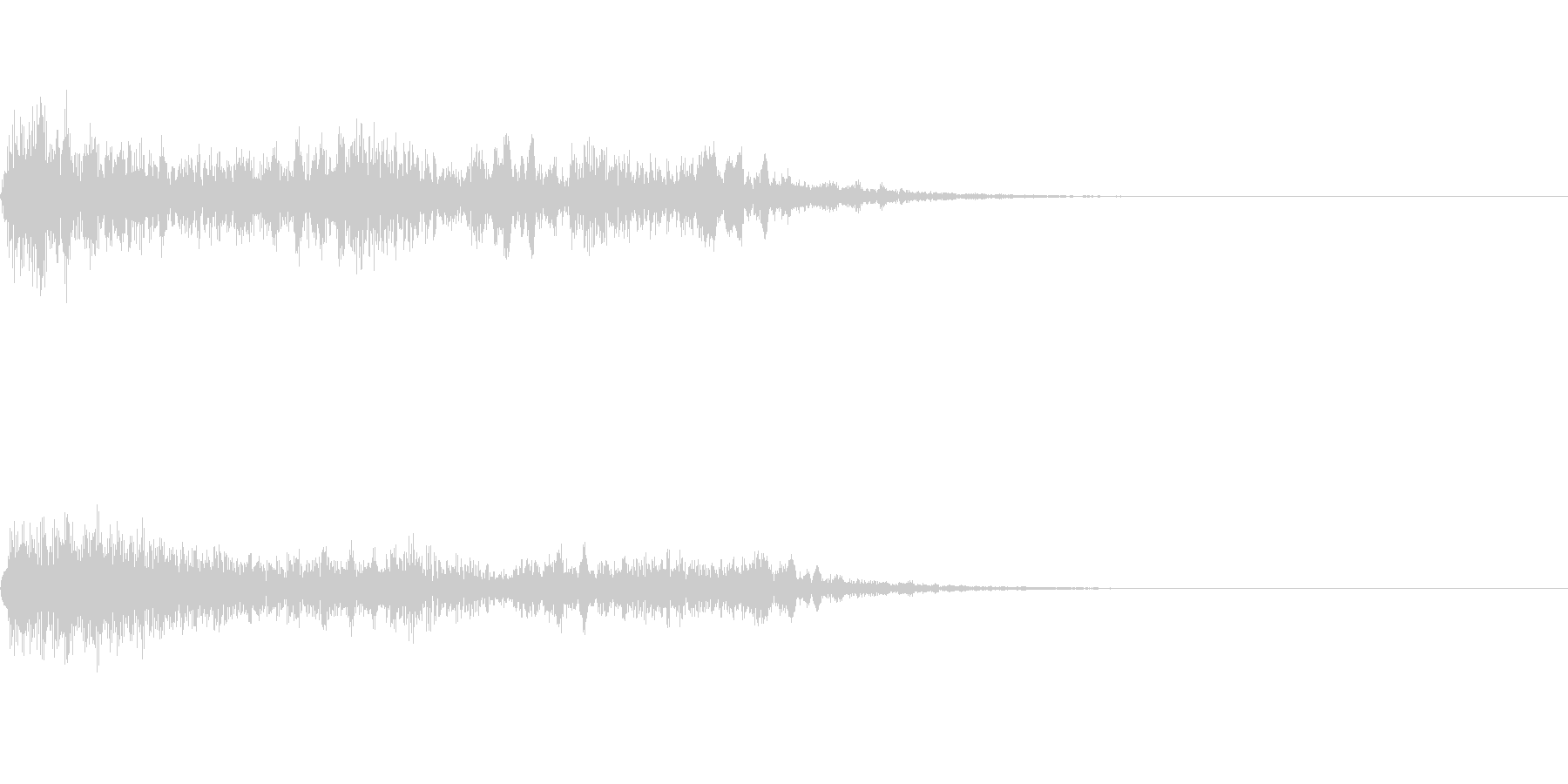 ホラー系導入音_その12の未再生の波形