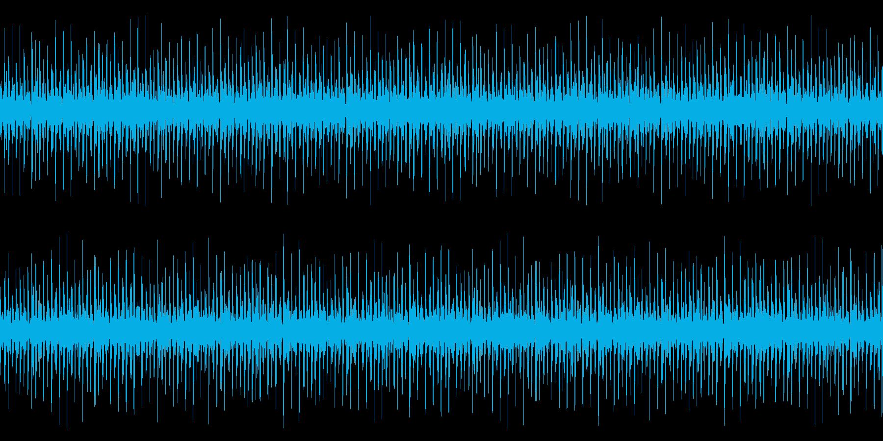 シンキングタイム、リズムループの再生済みの波形