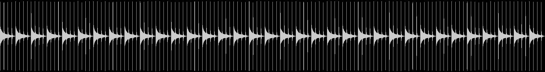 木製振り子メトロノーム09-BPM132の未再生の波形