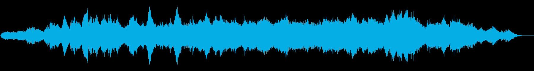 この漂う音は、温かみのある雰囲気の...の再生済みの波形