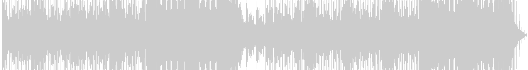 不気味でファンタジックなBGMの未再生の波形