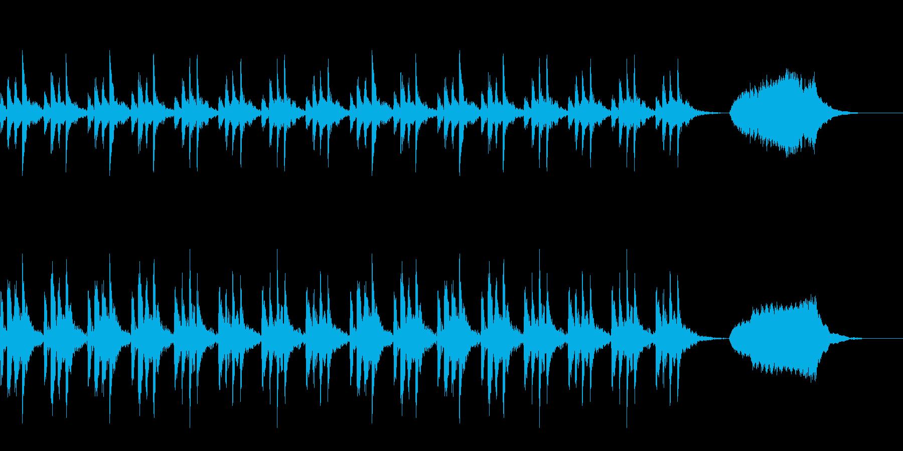 弦楽音 CM RPG ドラマチック 上品の再生済みの波形